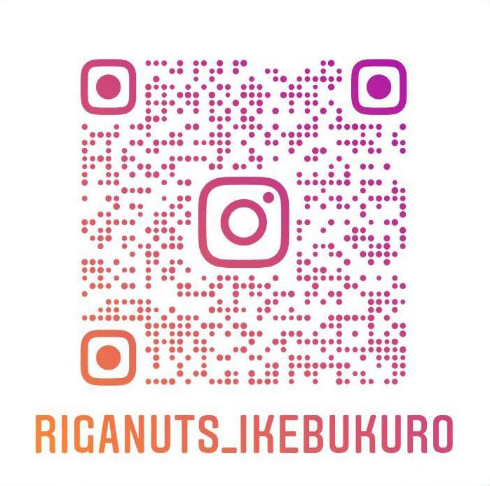 Riganuts池袋店のインスタグラム